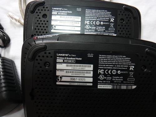 router linksys cisco wireless  wrt160n v3 -  usado