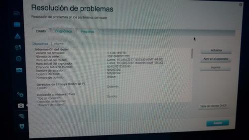 router linksys cisco,dual band.smart wifi,gigabit, ea6300v1