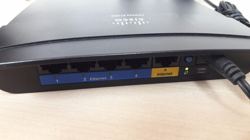 router linksys e1200 wifi 2.4ghz - 300mps