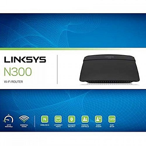 router linksys e900 inalámbrico n300