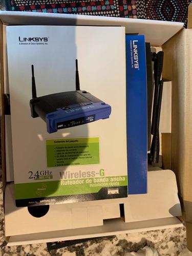 router linksys wrt54g seminuevo