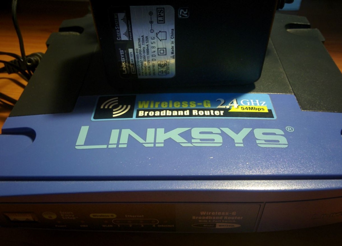 Router Linksys Wrt54gl Usado Con Firm Ddwrt - $ 600,00
