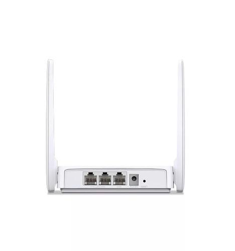 router mercusys 2 antenas mw301r inalámbrico 300mbps 5dbi