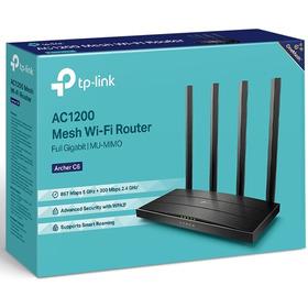 Router Mesh Tp-link Gigabit Wi-fi Dual Band Ac1200 Archer C6