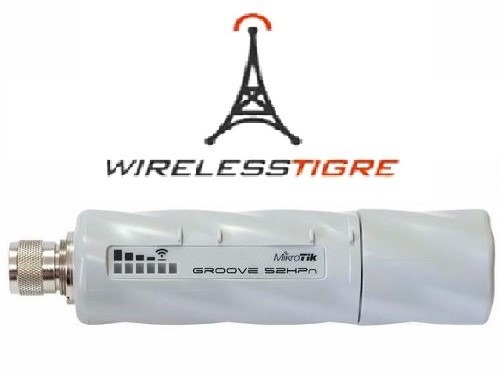router mikrotik groove 52hpn cpe 2.4/5.8 500mw l3 sin fuente
