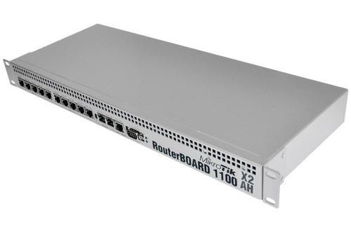 router mikrotik rb1100ahx2 13 puertos 2gb dual core level 6