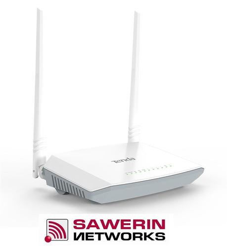 router modem tenda d301 adsl2+ wifi 2 antena x 5 dbi 300mbps