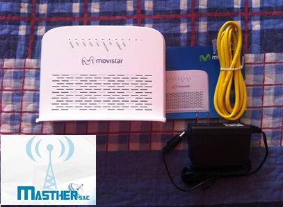 router movistar mitrastar - huancayo