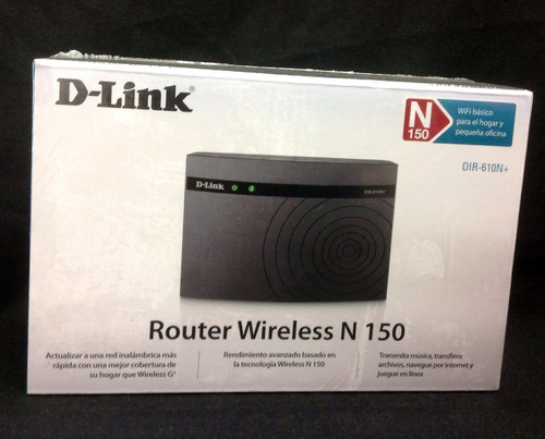 router n d-link dir-610n+
