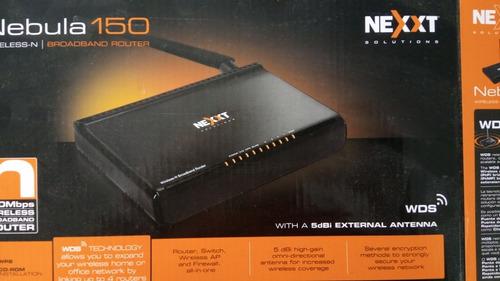 router nexxt nebula 150