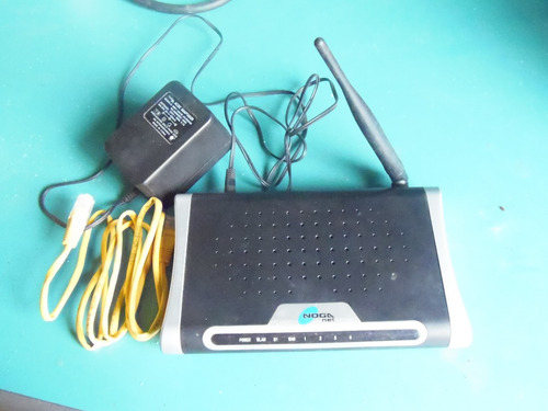 router noganet 2.4 ghz  54m  - modelo ng-w710