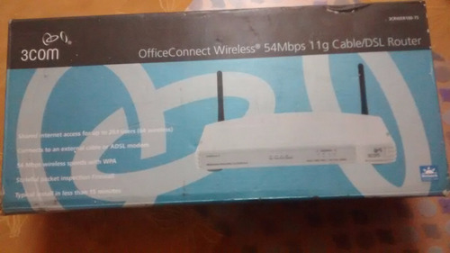 router officeconnect wireless 54 mbps 11g cable/dsl