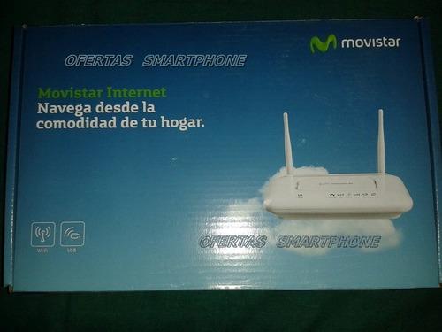 router repetidor wifi adsl 3g movistar - usado programdo
