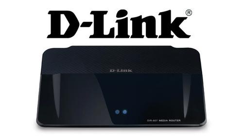 router ruteador multimedia hd d-link dir-857 único
