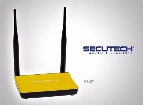 router secutech modelo ris-22 (oferta solo x esta semana )