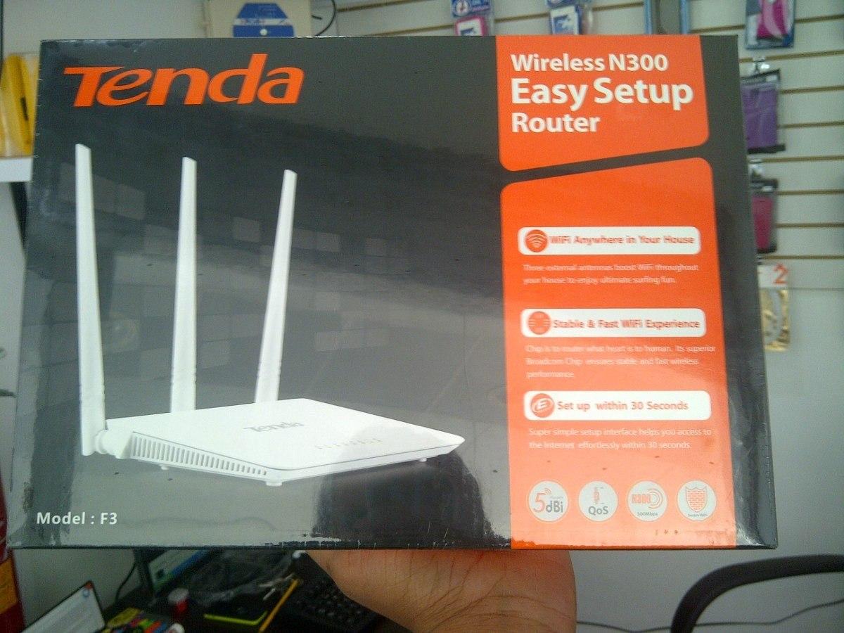 Router Tenda 3 Antenas F3 300mbps Lan Maximo Alcance Bs 026 En Easy Setup Cargando Zoom