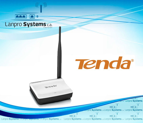 router tenda de 150 mbps n3 antena de 5 dbi