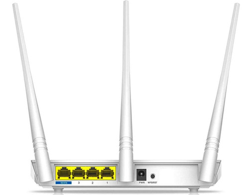 router tenda f3 wireless alto poder n300 3 antenas 5dbi