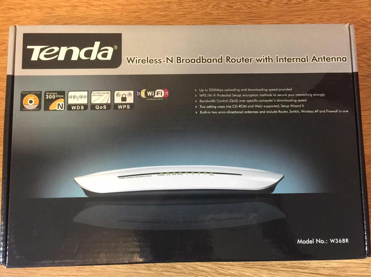 Tenda W368R Wireless Router Drivers (2019)