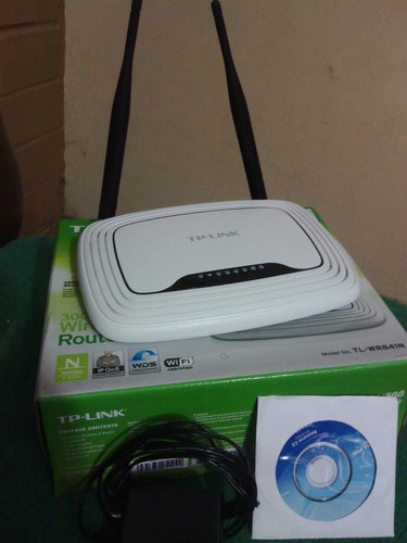 router tp-link 300mbps 2 antenas