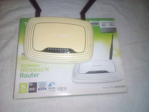 router tp-link 841nd 2 antenas