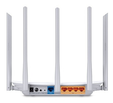 router tp-link ac1350 archer c60 dual band 2.4ghz 5ghz