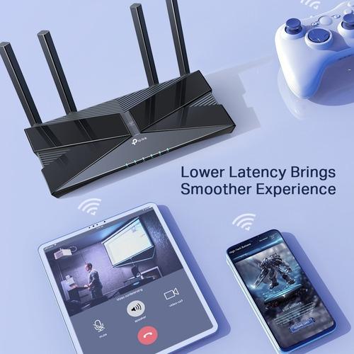 router tp-link ax50 wifi 6 última generación ax3000 dualgiga