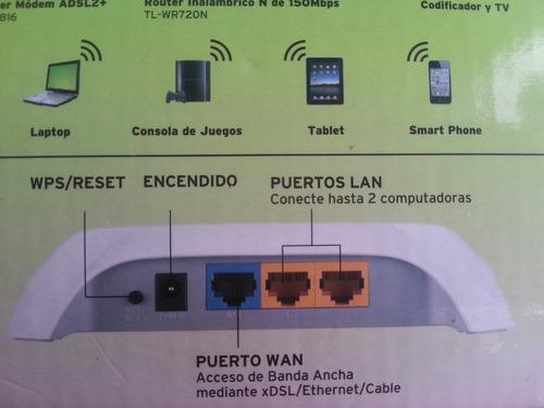 router tp-link de 150 mbps