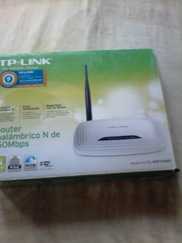 router tp-link tl-wr740 n 150 mbps wifi 1 antena