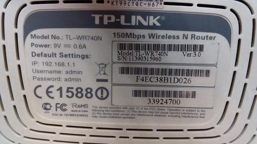 router tp-link tl-wr740n 150mbps