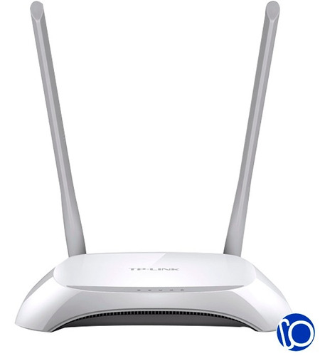 router tp-link tl wr840n 2 antenas 300 mbps inalambrico 840n