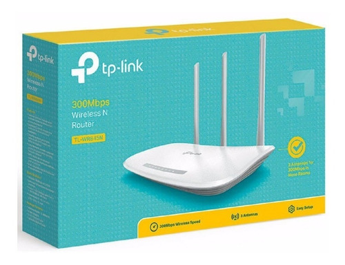 router tp-link tl-wr845n inalambrico 300mbps wifi red xtc