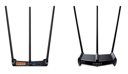 router tp-link tl-wr941hp 450mbps rompe muros 9dbi