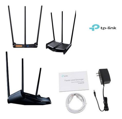 router tp link tl-wr941hp de alta potencia de hasta 450mbps