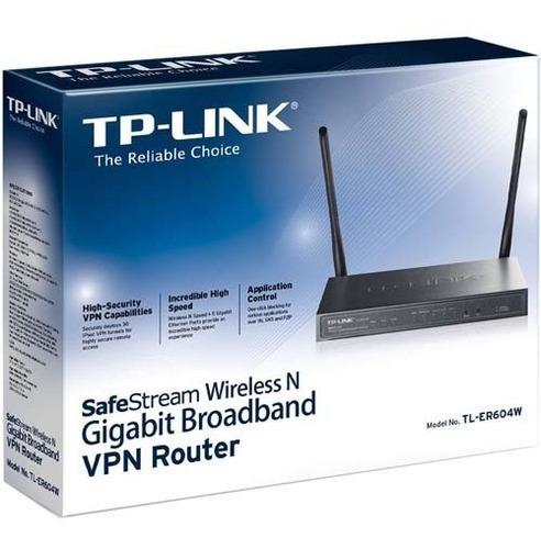 router tp-link vpn gigabit inalambrico (tl - er604w)