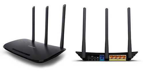 router tp link wifi tl wr 940n 450 mbps mimo 3 antenas 940