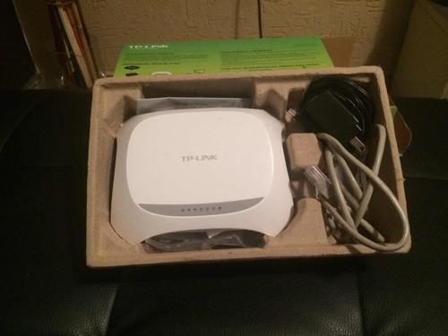 router tp-link wr720n inalámbrico 4 redes 150 mbps