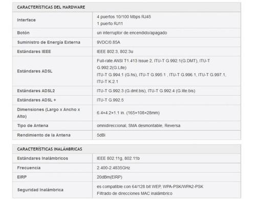 router tplink adsl td-w8901g - nuevo en caja - configurado