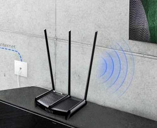 router tplink tl wr941hp 450 mbps 1 vatio 3 antenas 9 dbi
