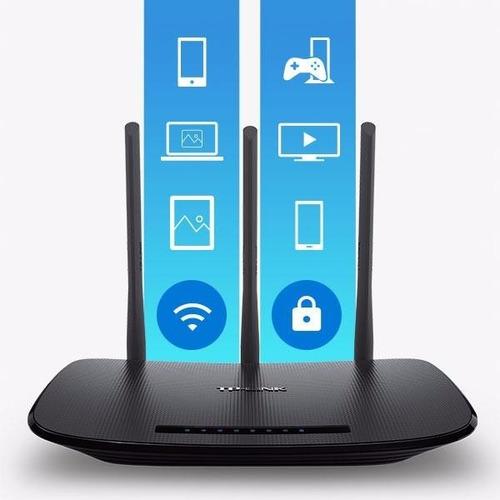 router tplink wr940n 450mbps 3 antenas, full rapidez!!
