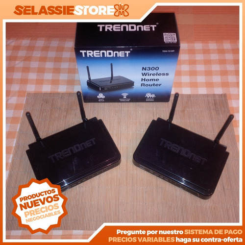 router trendnet n300 wireless (tew-731br 300 mbps)