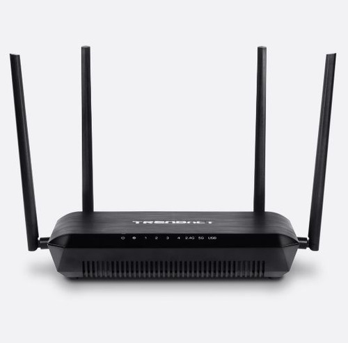 router trendnet tew-827dru mu-mimo ac2600 wifi