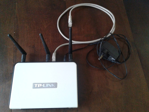 router wi-fi tp-link tl-wr941 nd norma n 300mbps 3 antenas