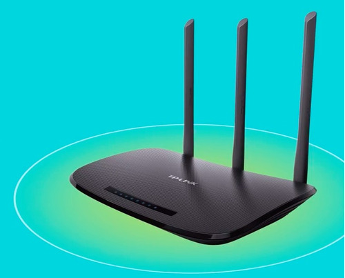 router wifi 3 antenas potente 450 mbps tp-link wr940n gtia