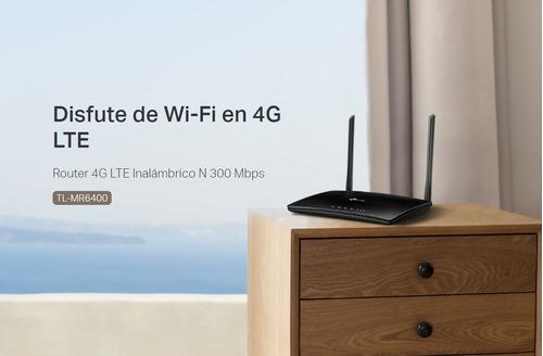 router wifi 4g lte digitel sim y aba mr6400 garantía 5 años