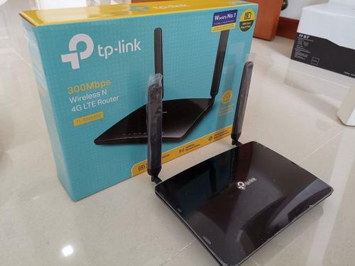 router wifi inalambrico 4g tl-mr6400 tp-link bitel