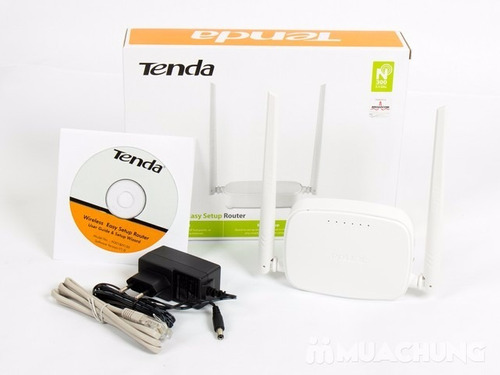 router wifi inalambrico doble antena wireless tenda n301
