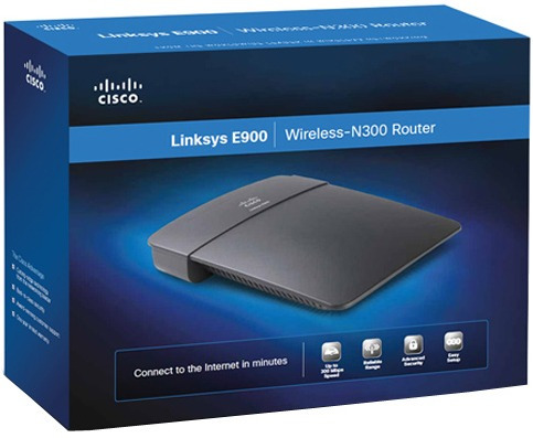 router wifi linksys cisco e900 norma n 300mbps 2.4ghz mexx