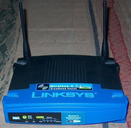 router wifi linksys wrt54g v.8 antenas fijas, con dd-wrt!!