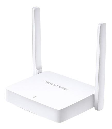 router  wifi mercusys mw301r dos antenas 300 mbps 301